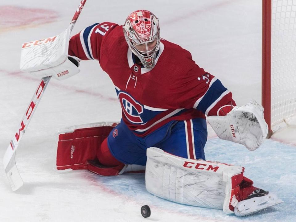 Montreal Canadiens goaltender Carey Price is entering the NHL/NHLPA's player assistance program, according to a joint media release issued on Thursday. (Graham Hughes/Canadian Press  - image credit)