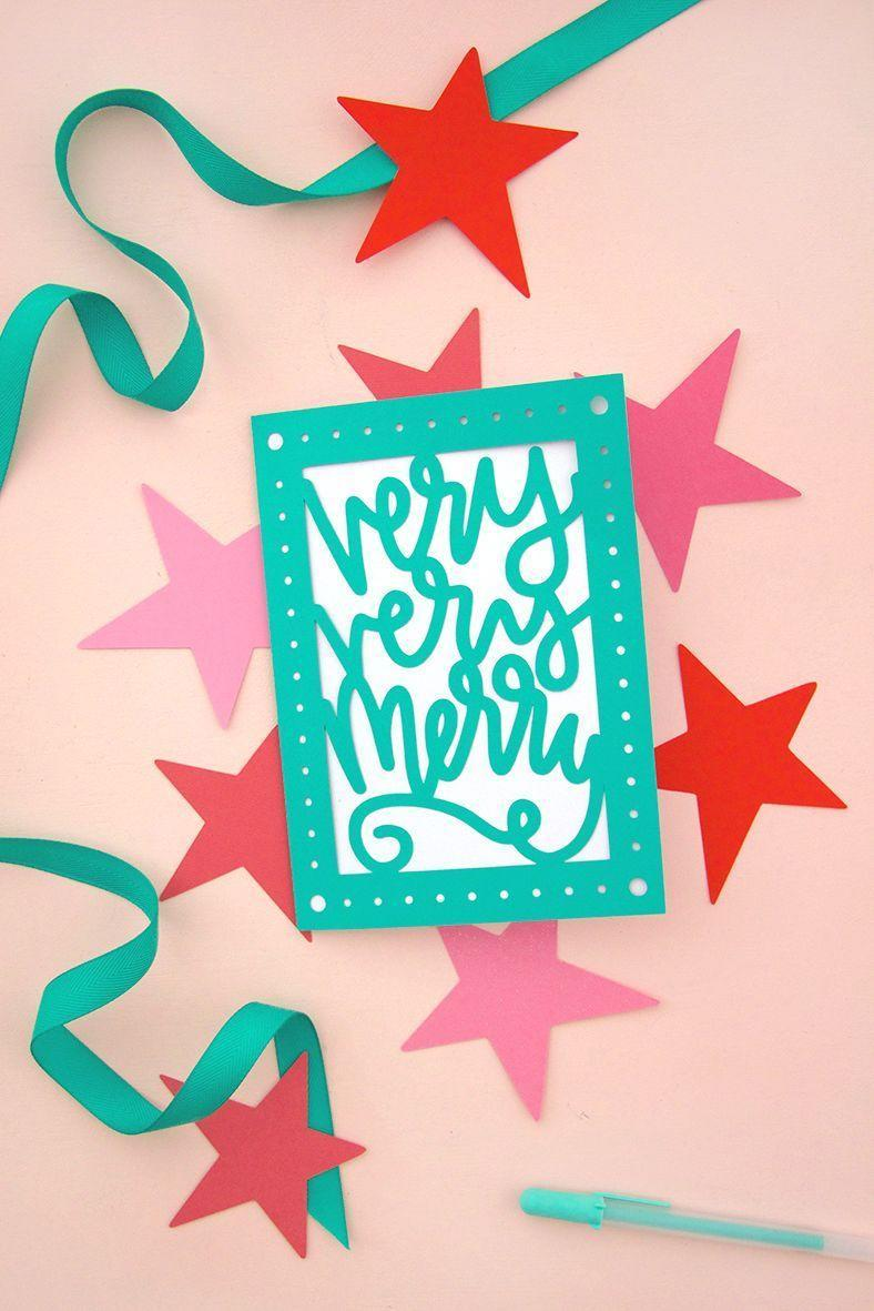 """<p>In addition to any photo cards you mail out, consider crafting DIY cards for people who could use a little cheer. Think: first responders, including doctors and nurses. Alternatively, most nursing homes accept cards to spread merriment amongst residents. </p><p><em>Get the tutorial at <a href=""""https://persialou.com/diy-paper-cut-christmas-cards-free-svg-cut-files/"""" rel=""""nofollow noopener"""" target=""""_blank"""" data-ylk=""""slk:Persia Lou"""" class=""""link rapid-noclick-resp"""">Persia Lou</a>.</em></p>"""