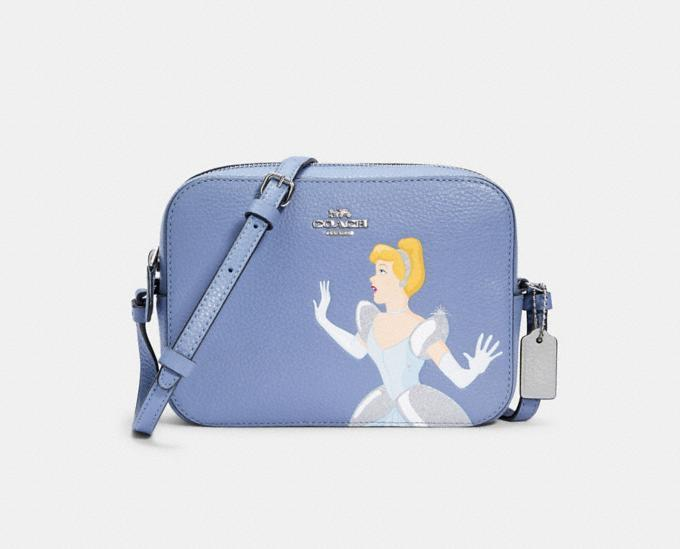 Disney X Coach Mini Camera Bag With Cinderella. Image via Coach Outlet.