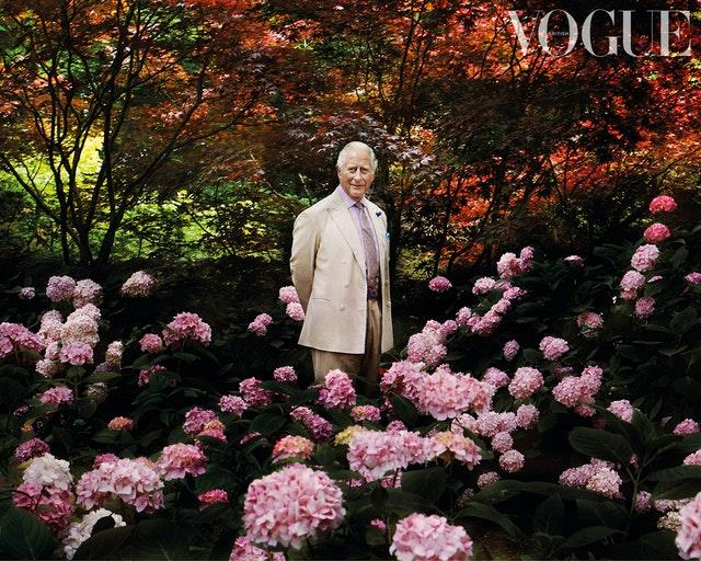 Prince of Wales in British Vogue