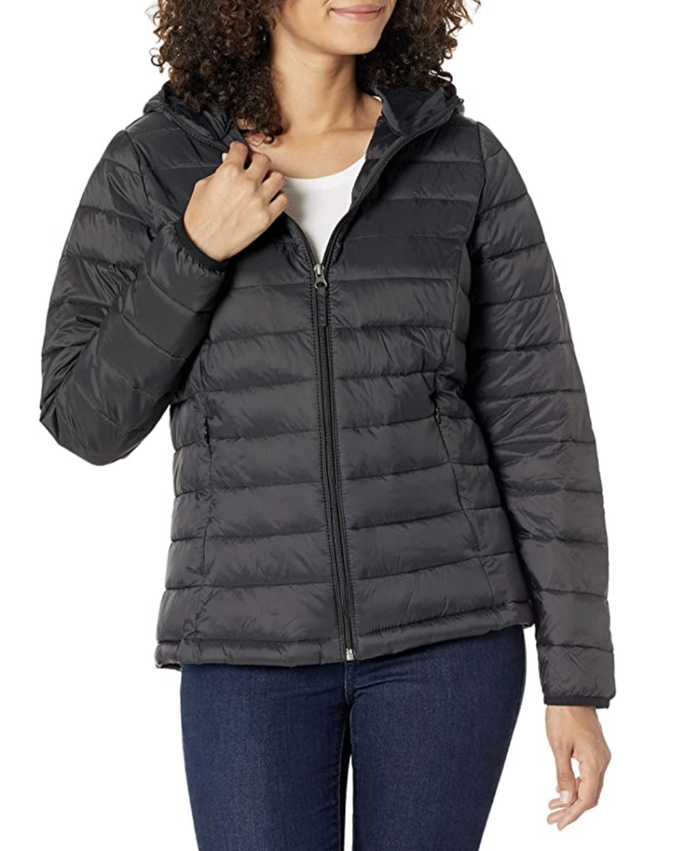 Amazon Essentials Lightweight Puffer. Available in 13 different colours.