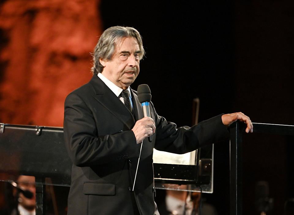 Riccardo Muti (Photo: VINCENZO PINTO via Getty Images)