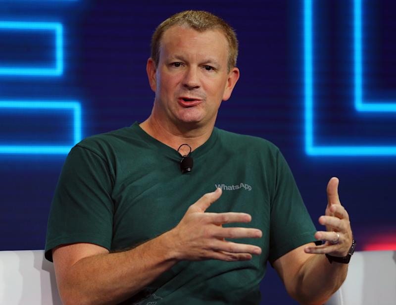 Brian Acton, co-founder of WhatsApp (Mike Blake / Reuters)