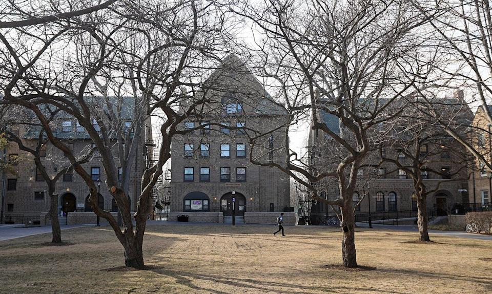 fraternities on the campus of Northwestern University