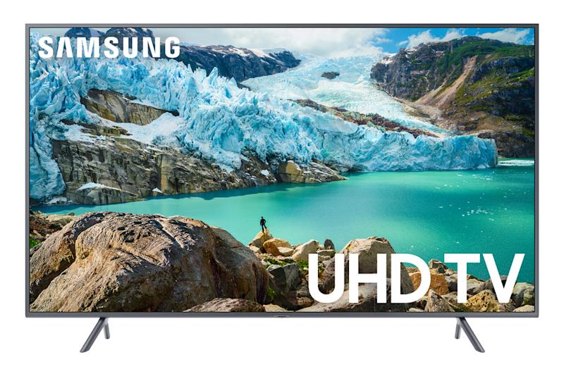 This 4K TV is compatible with Amazon Alexa and Google Home. (Photo: Walmart)