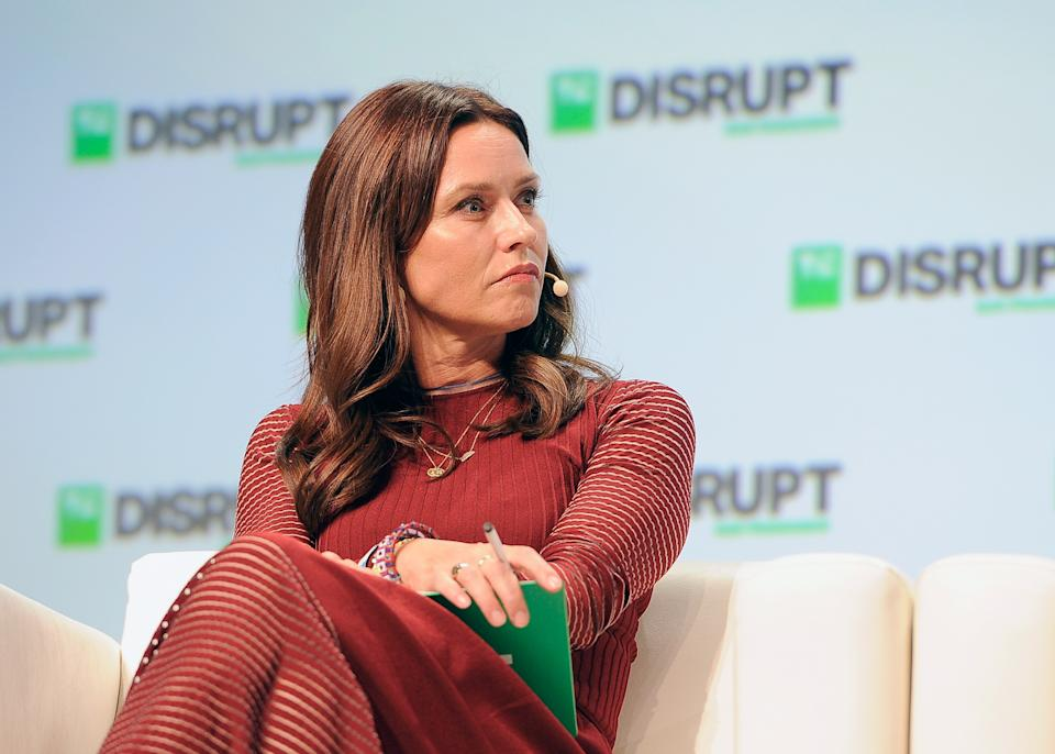 SAN FRANCISCO, CA - SEPTEMBER 07:  Forerunner Ventures Founding Partner Kirsten Green speaks onstage during Day 3 of TechCrunch Disrupt SF 2018 at Moscone Center on September 7, 2018 in San Francisco, California.  (Photo by Steve Jennings/Getty Images for TechCrunch)