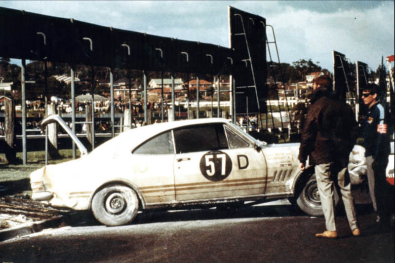 The first Holden HT Monaro race car. (Source: Lloyds Auctions)