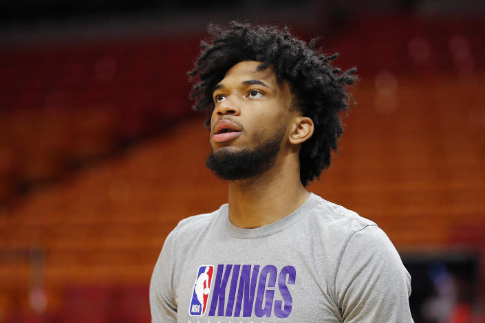 Marvin Bagley's father might be a little too active on Twitter. (Photo by Michael Reaves/Getty Images)