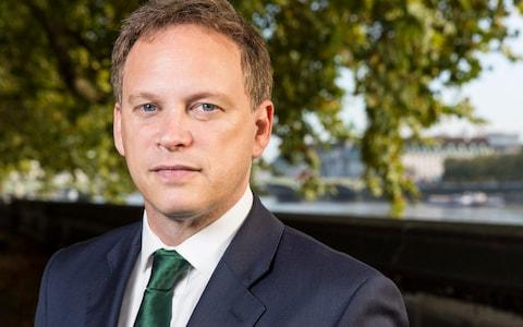 Grant Shapps - Credit:  Andrew Crowley/The Daily Telegraph