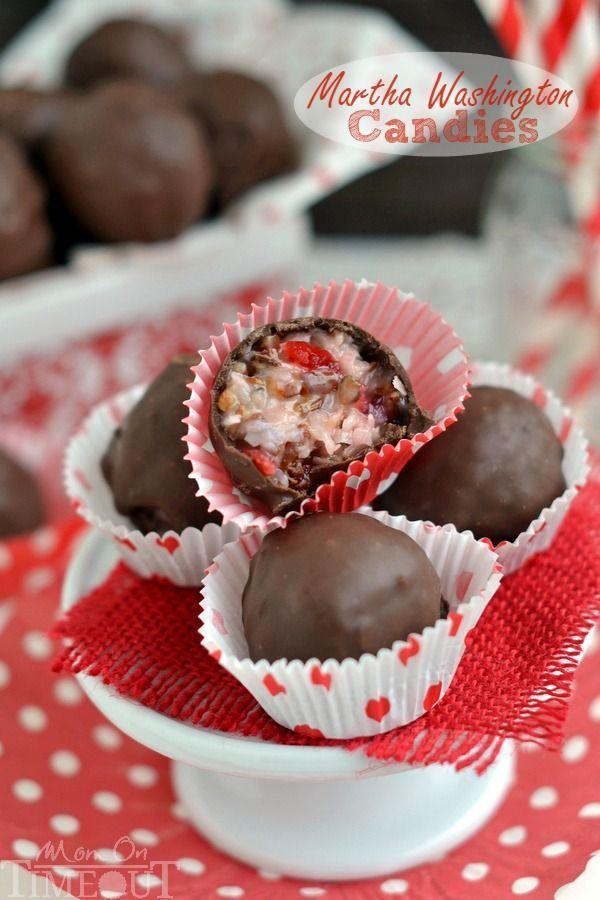 """<p>Hidden inside these chocolate-covered balls are a delectable mix of coconut, pecans, and maraschino cherries.</p><p><strong>Get the recipe at <a href=""""http://www.momontimeout.com/2014/12/martha-washington-candies/"""" rel=""""nofollow noopener"""" target=""""_blank"""" data-ylk=""""slk:Mom On Timeout"""" class=""""link rapid-noclick-resp"""">Mom On Timeout</a>.</strong> </p>"""