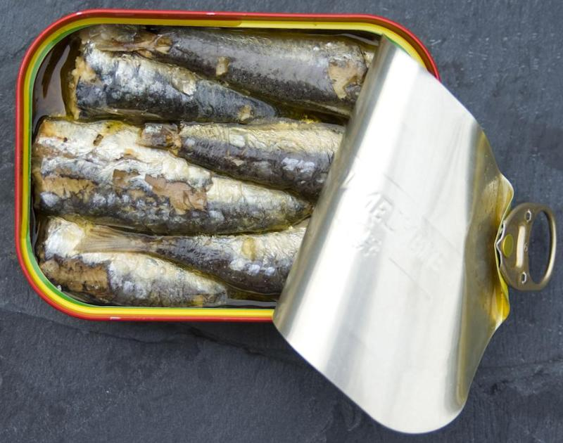 Food and DrinkMandatory Credit: Photo by Food and Drink/REX (2481414a) Canned Sardines Food and Drink