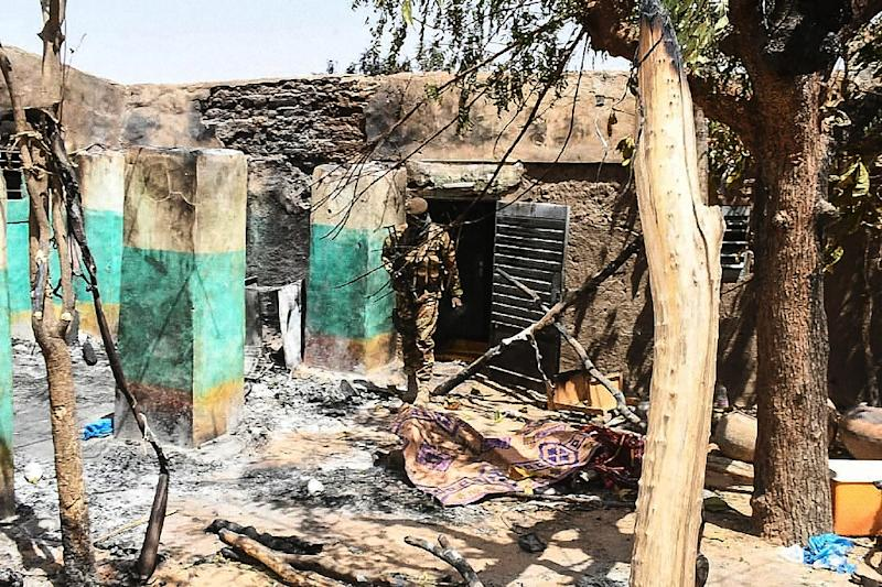 March's attack on the village of Ogossagou was the deadliest in Mali since the 2013 French-led military intervention that drove back jihadist groups who had taken control of the north of the country (AFP Photo/Handout)