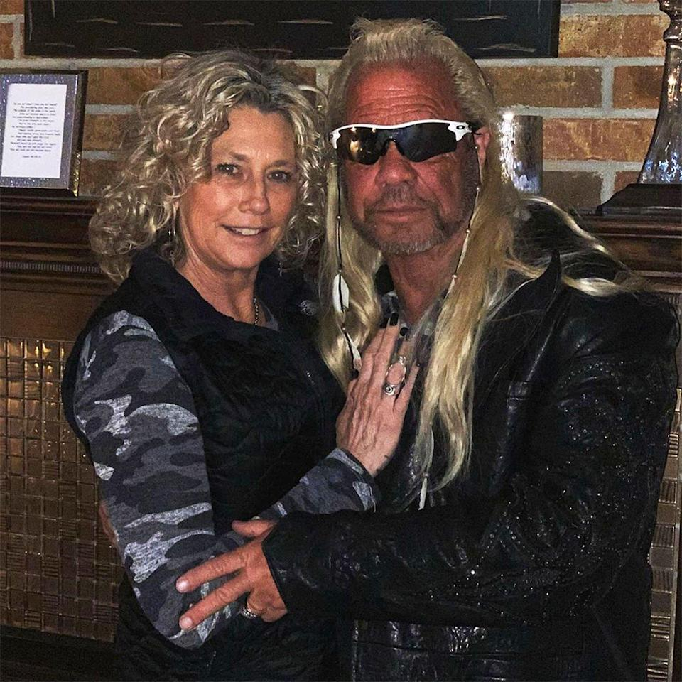 Dog the Bounty Hunter's Fiancée Francie Frane Reveals Her 'Tactic' to Get Him to Quit Smoking