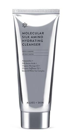 <p>Nicolas Travis is the founder of the sophisticated skin-care brand Allies of Skin (as well as PSA Skin). The brand's mission is to be an ally of your skin, the planet, animals, and the LGBTQ+ community. The <span>Molecular Silk Amino Hydrating Cleanser</span> ($38), a top-rated cleanser by the brand, is suitable for all skin types and will help brighten and hydrate your complexion.</p>