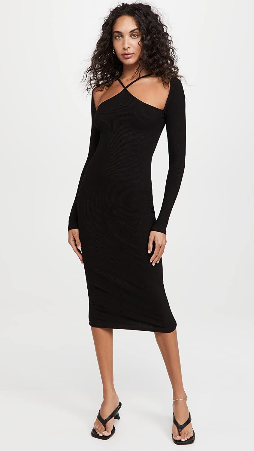 <p>This <span>Lioness Crossing The Line Midi Dress</span> ($79) will make you look and feel like the main character. It looks so good, and we can confirm the fabric is soft, stretchy, and comfortable to wear.</p>