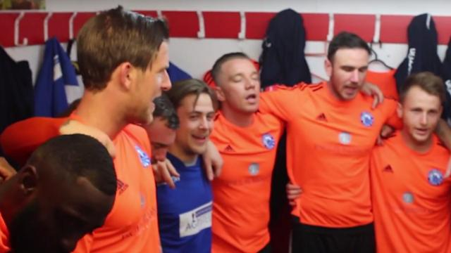 The non-league side claimed victory over Tonbridge Angels after an unusual pre-match ritual in the dressing room