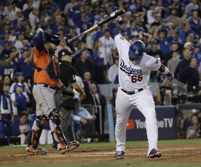 The Dodgers couldn't overcome the Astros in the World Series. (AP Photo/David J. Phillip)