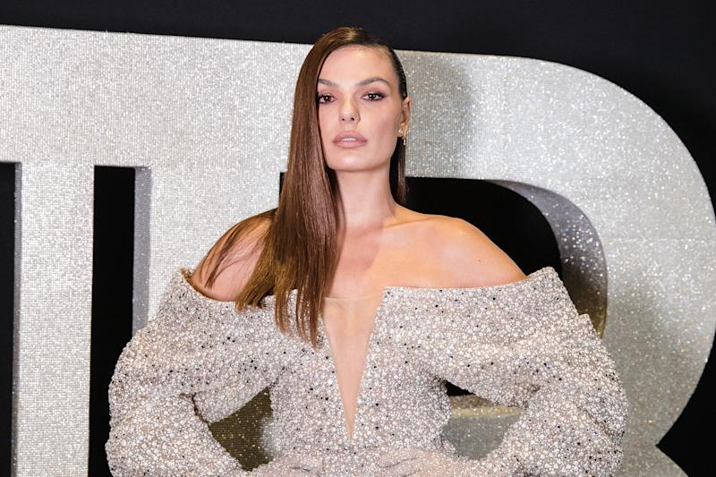 SAO PAULO, BRAZIL - AUGUST 26: Isis Valverrde attends the Balmain party at Cidade Jardim Shopping on August 26, 2019 in Sao Paulo, Brazil.(Photo by Mauricio Santana/Getty Images)