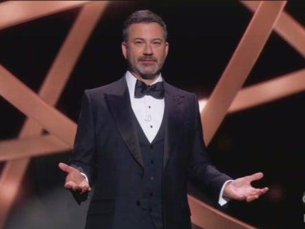 Jimmy Kimmel at the Emmys (ABC)