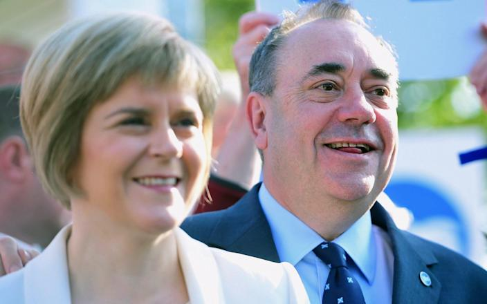 Nicola Sturgeon and Alex Salmond are now bitter rivals - Jeff J Mitchell/Getty Images Europe