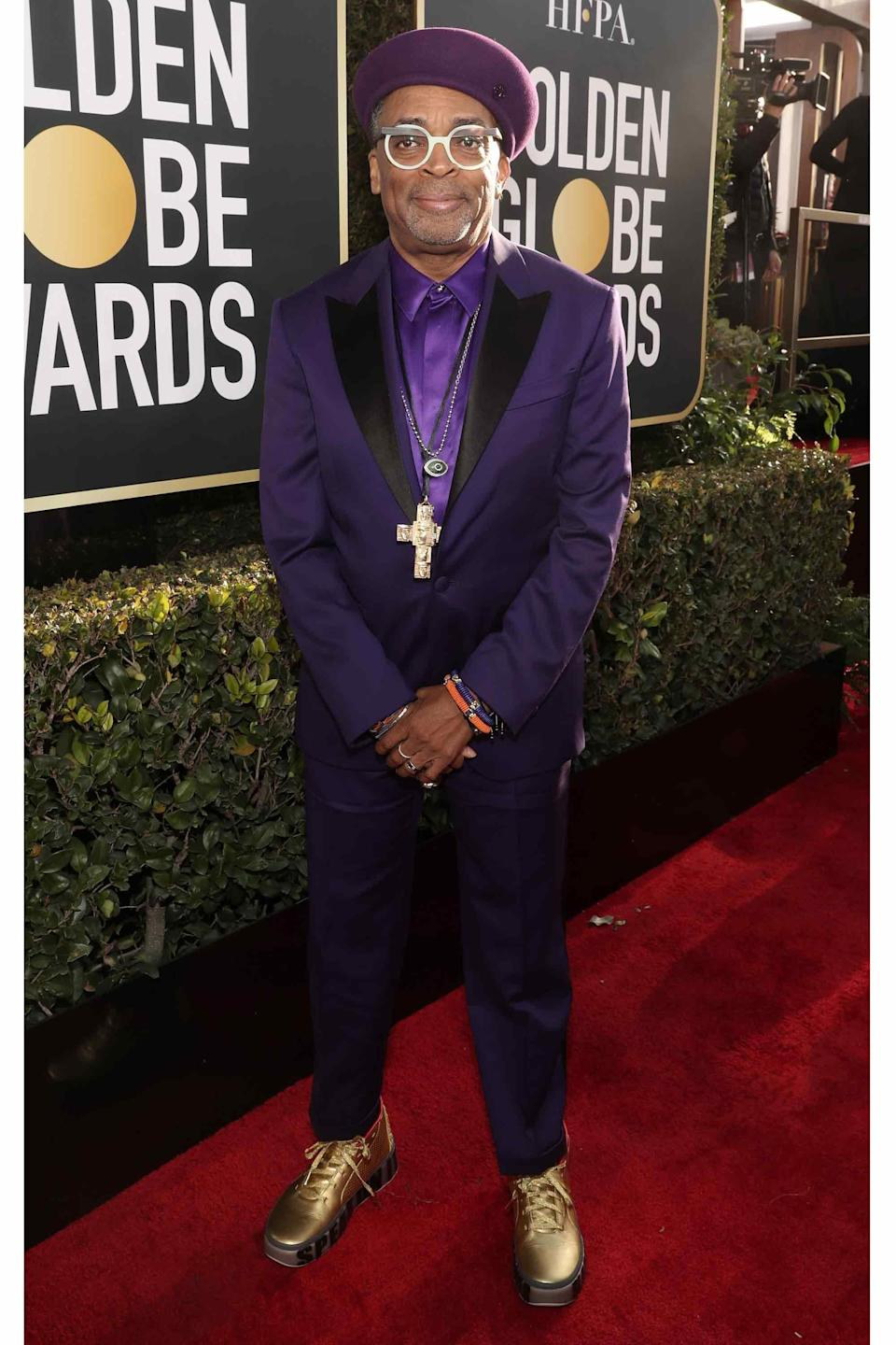You know how you know Spike Lee has true god-level personal style? He'd definitely wear this to grab a carton of milk at the deli.