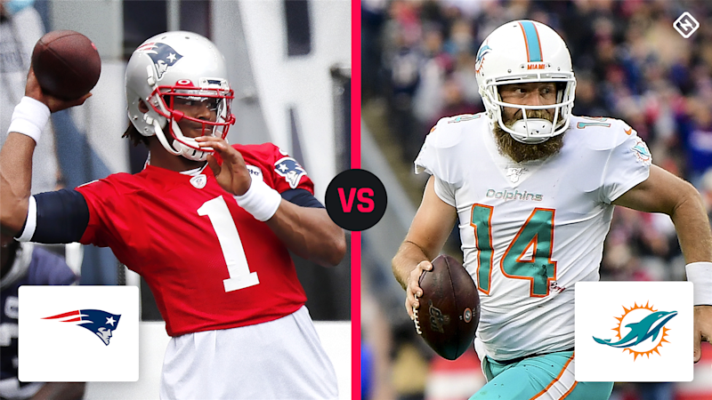 What channel is Patriots vs. Dolphins on today? TV schedule, time for Week 1 NFL game