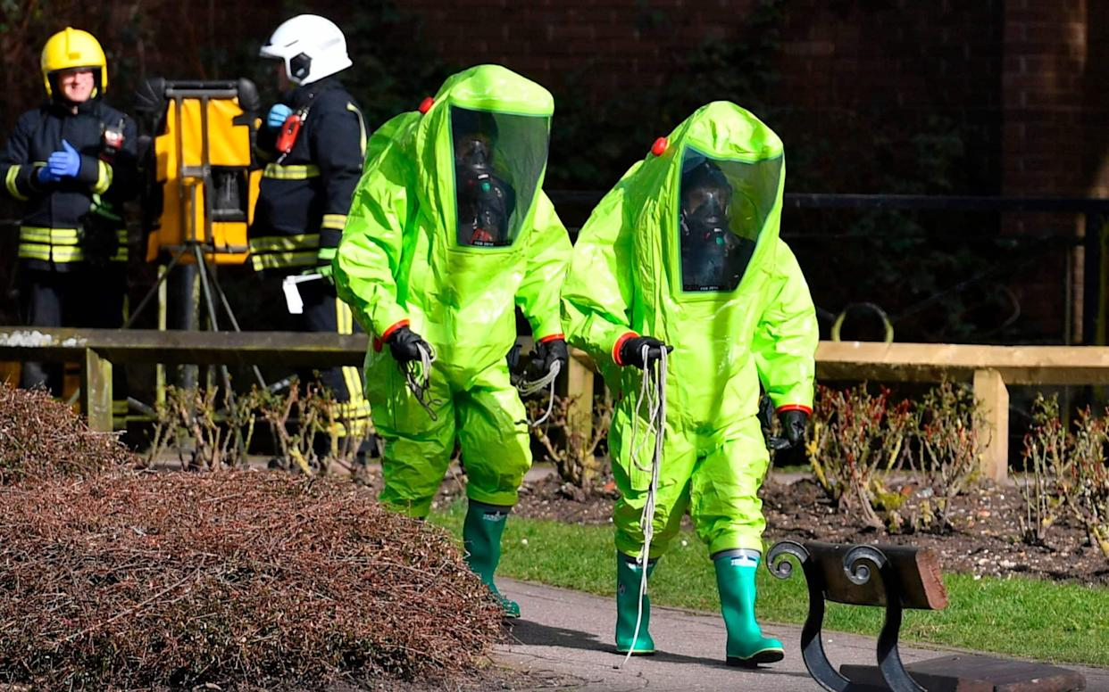Moscow said the move, a response from the US to a lack of assurances from Russia after the Skripal poisoning, would hurt ties - AFP