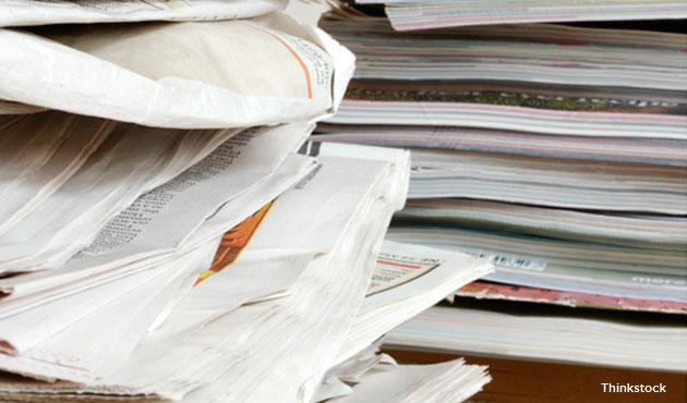 Bills create clutter. Avoid going through sheets of paper and envelopes every month by requesting your water, electric and cable companies to send your bills via e-mail, and pay them online. There's no need to line up anywhere to pay, and your files will also be easily accessible and organized.