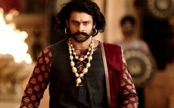 <p>Prabhas as Baahubali </p>