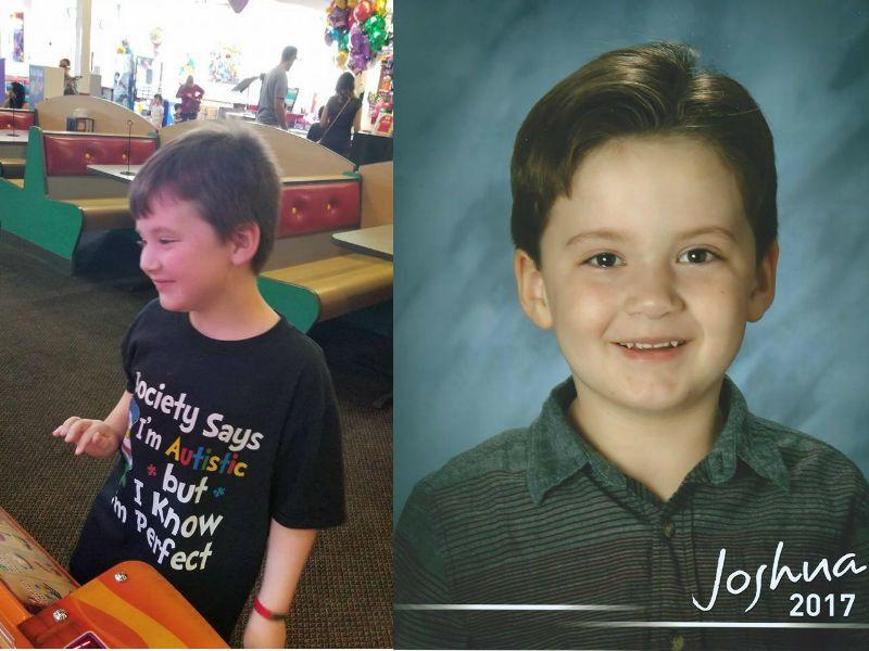 """Joshua """"J.J."""" Wahrer's parents are fighting for their son to be able to wear a listening device to school. (Photo courtesy of Joshua Wahrer)"""