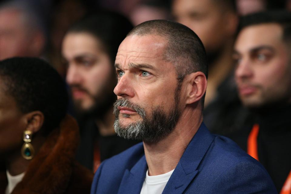 LONDON, ENGLAND - DECEMBER 21: Fred Sirieix watches on from ringside at Copper Box Arena on December 21, 2019 in London, England. (Photo by James Chance/Getty Images)