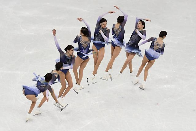 "<p>In order to accomplish those insane jumps without getting dizzy, figure skaters have to reprogram their brains. It's a pretty complicated process that is explained in this <a href=""https://www.scientificamerican.com/article/why-don-t-figure-skaters-get-dizzy-when-they-spin/"" rel=""nofollow noopener"" target=""_blank"" data-ylk=""slk:Scientific American article"" class=""link rapid-noclick-resp"">Scientific American article</a>. </p>"