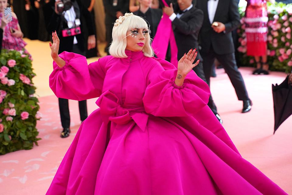 Lady Gaga attends the Met Gala on May 6, 2019 in New York City. (Photo by Sean Zanni/Patrick McMullan via Getty Images)