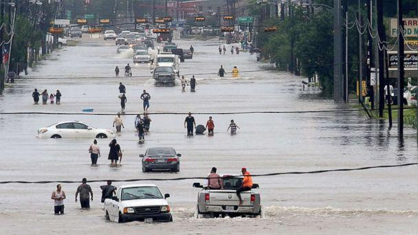 Abbott gives Houston $50 Million for Harvey Recovery, Turner Rescinds Tax Increase