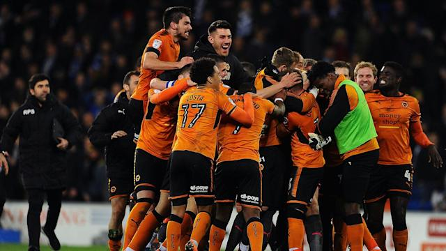 Nuno Espirito Santo's team have been top of the table since October and returned to the top flight after a six-year absence
