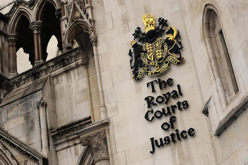 The case was heard at the Court of Appeal: PA Archive/PA Images