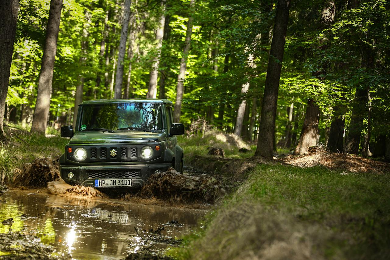 """<p>The fourth-generation 2020 Suzuki Jimny continues a proud half-century heritage as a wee off-road-capable box. While Suzuki no longer sells cars in the United States, we'd love to see the Jimny lead its return to our market. Read the full story <a href=""""https://www.caranddriver.com/reviews/a32676056/2020-suzuki-jimny-drive/"""" target=""""_blank"""">here</a>.</p>"""