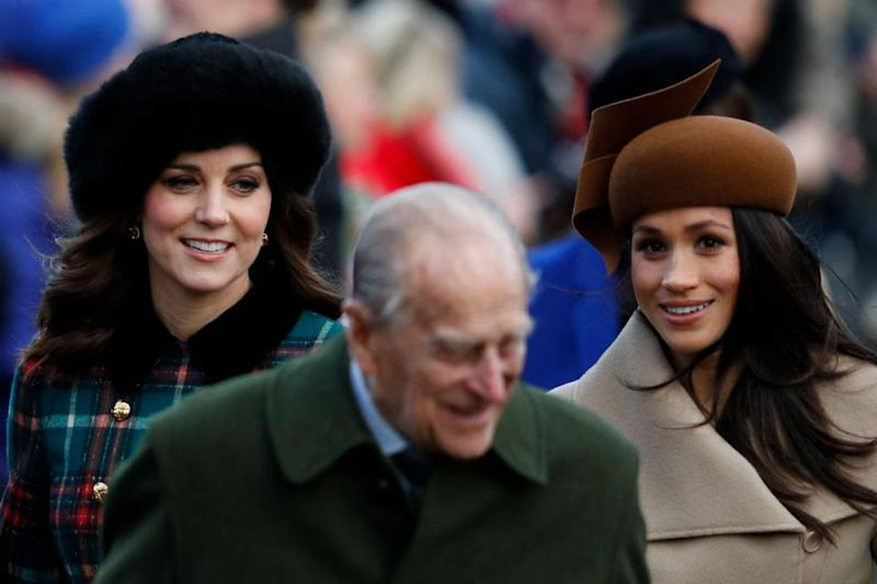 Meghan Markle, Kate Middleton Christmas Day