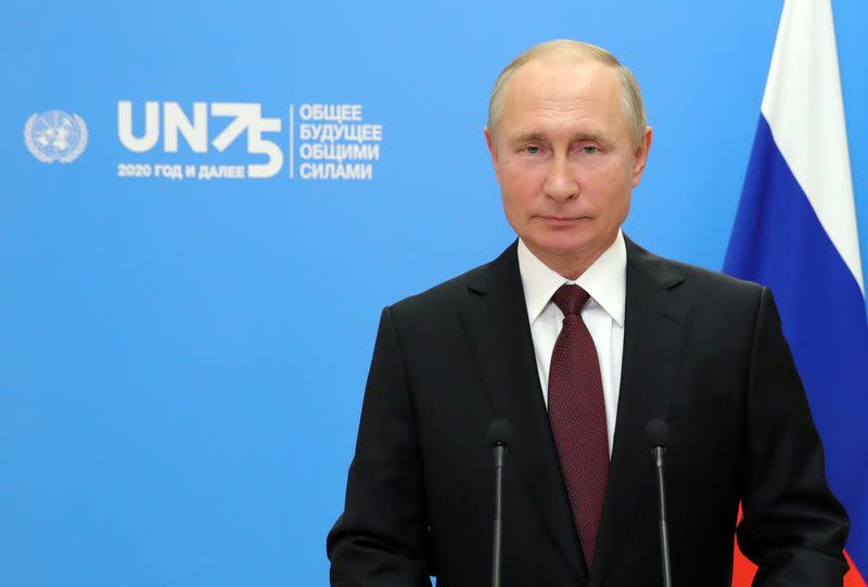 Russia's Putin wants stronger WHO, proposes conference on coronavirus vaccine