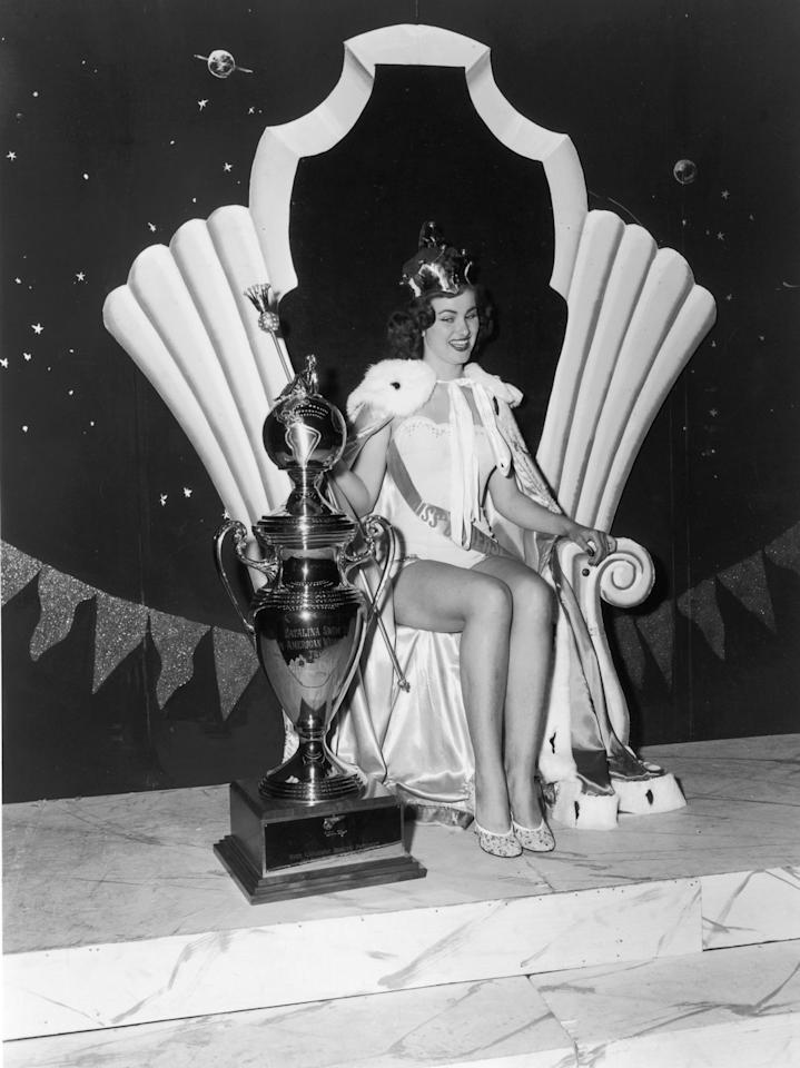 <p>21-year-old Christiane Martel from France won the second Miss Universe title. </p>