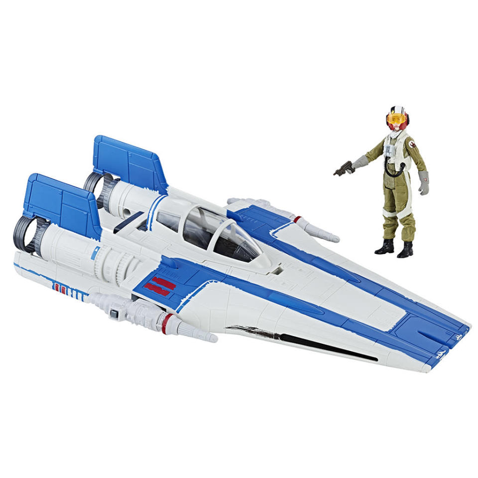 <p>The classic starfighter gets updated for <em>The Last Jedi</em>. $29.99 (Photo: Hasbro) </p>