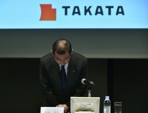 Takata plunges after record US fine, dumping by Honda
