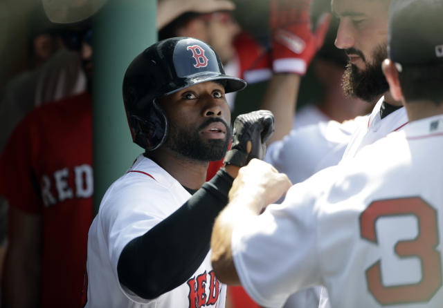 Jackie Bradley Jr. explains why he won't be joining his Red Sox teammates when they visit the White House in May. (AP)