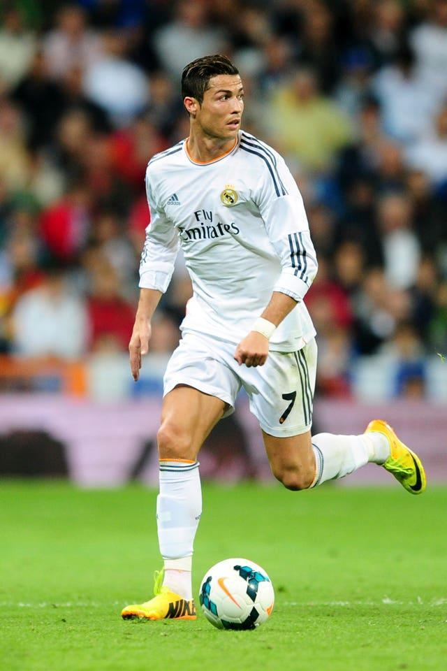 Ronaldo had an outstanding record at Real Madrid