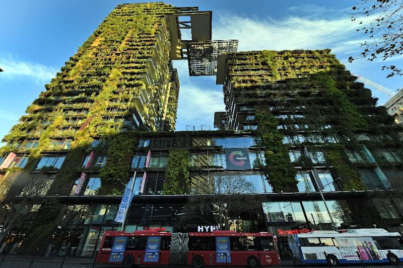 A retail and residential development in Sydney (AFP Photo/WILLIAM WEST)