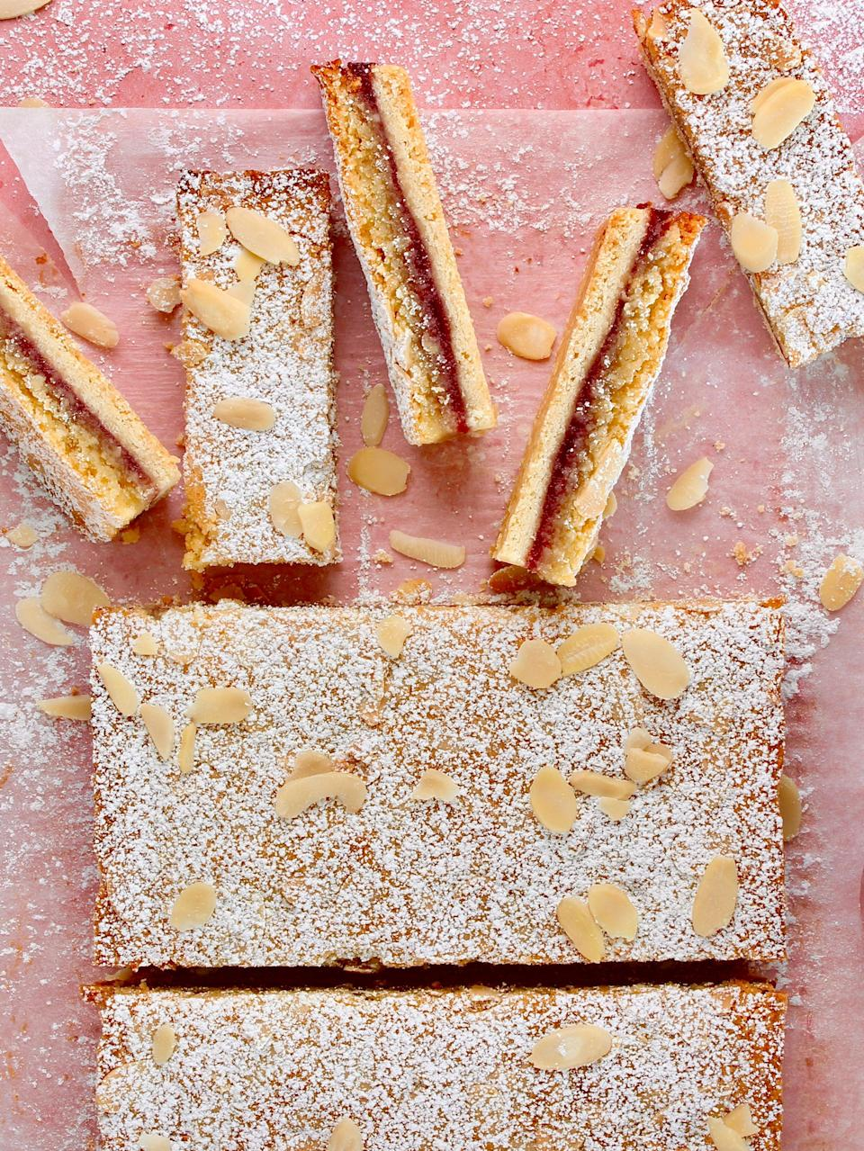 This pastry makes for a sweet midday snack, perfect with a pitcher of lemonade (Easy Peasy Baking Campaign)
