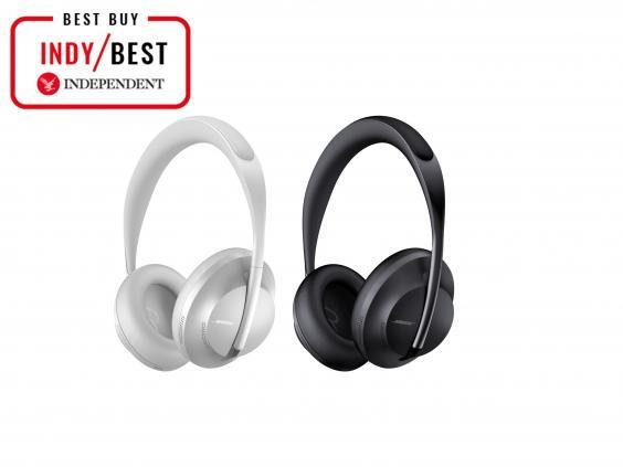 Shut out the world with a pair of noise-cancelling headphones, perfect for sunbathing sessions and long car rides (The Independent)