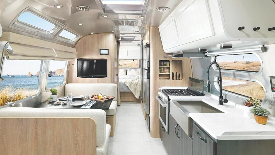 Inside the Pottery Barn Special Edition - Credit: Airstream