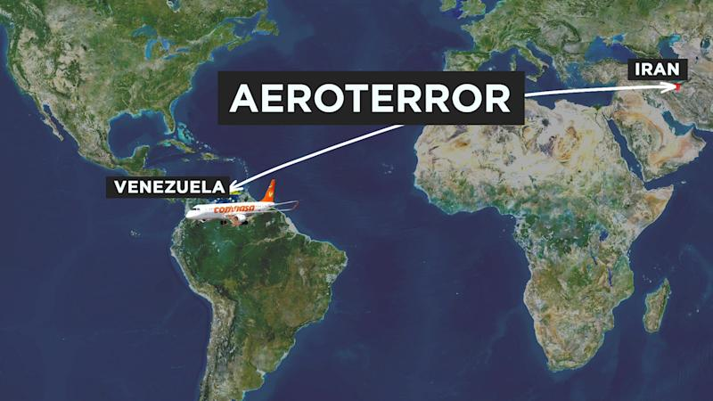 The connection between Venezuela and Iran: Aeroterror. (Source: Yahoo Finance)