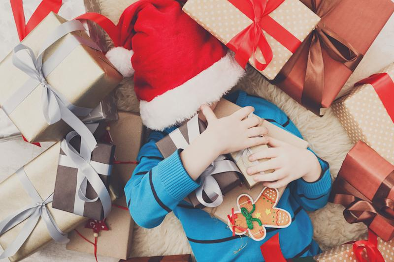 How much is too much to spend on children at Christmas? [Photo: Getty]